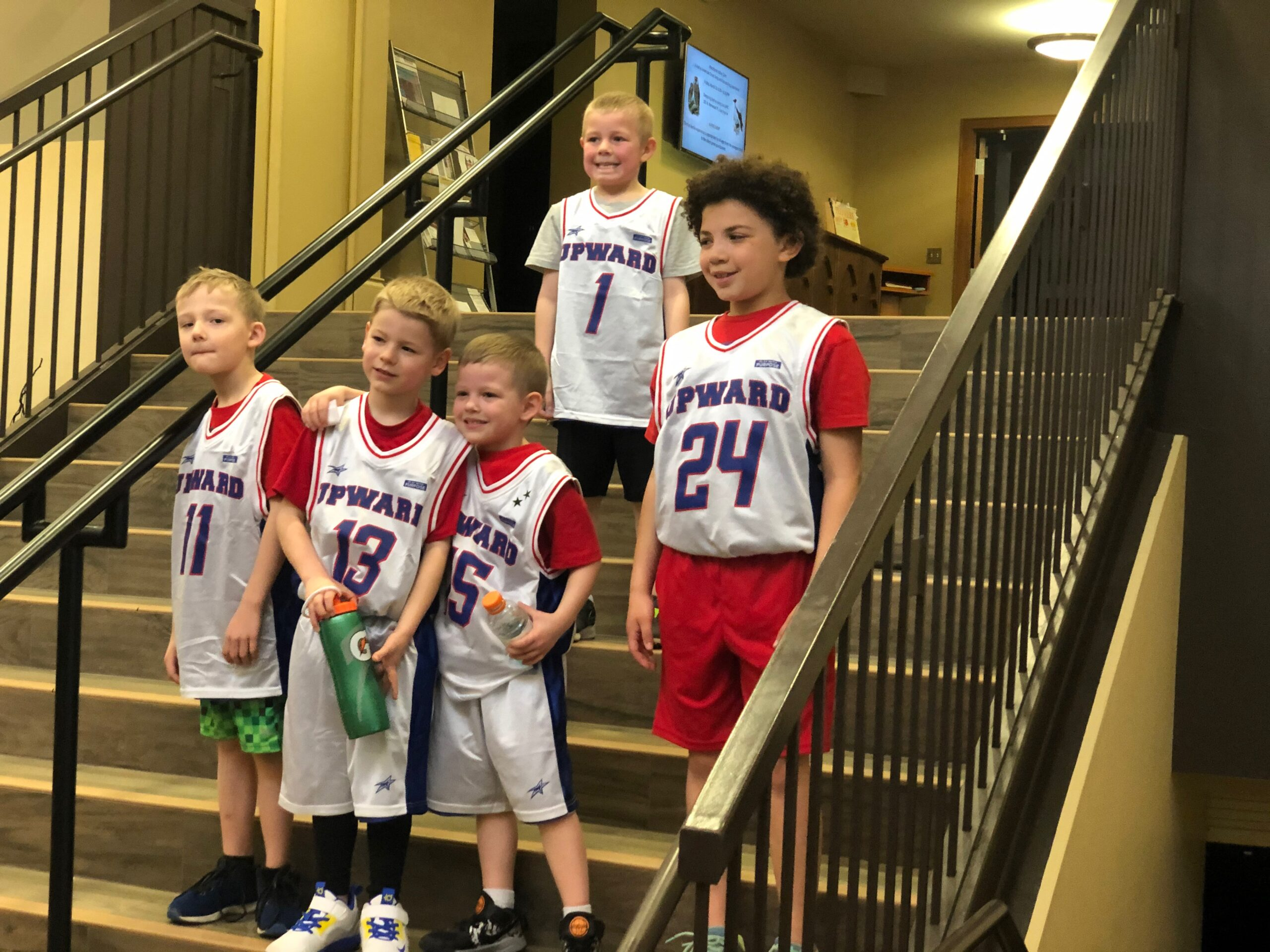 kids after basketball